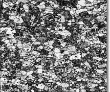 Analysis of a Partially Recrystallized Steel Specimen Using Image Quality Measurement