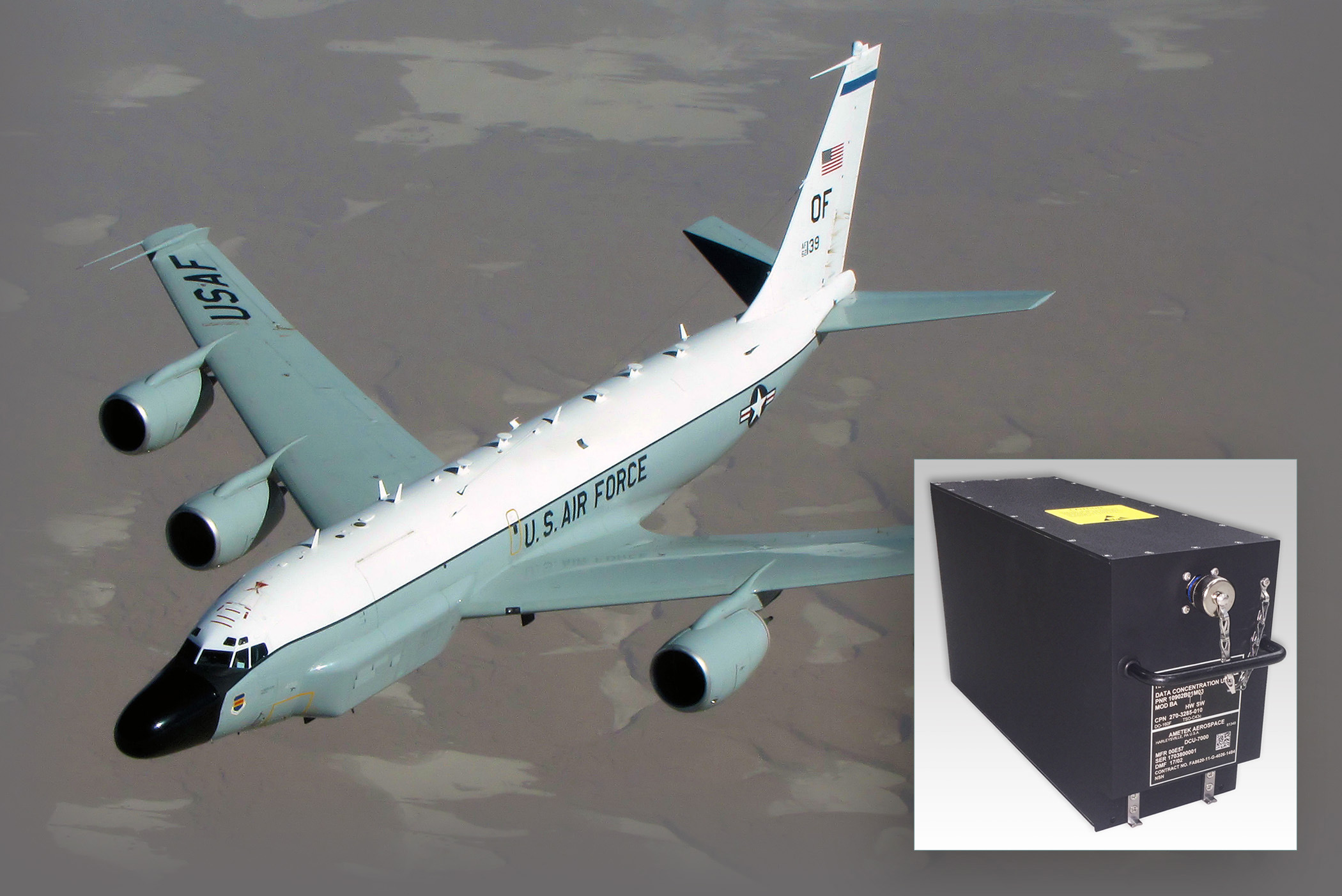 RC-135 Multi-Engine Data Concentrator