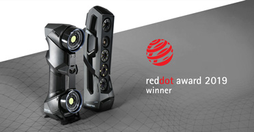 Creaform's HandySCAN BLACK and Go!SCAN SPARK  Win the Red Dot Awards for Product Design
